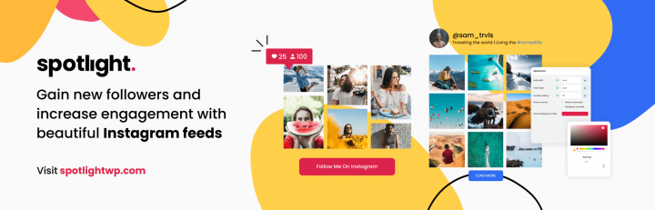 Spotlight Instagram Feeds for WordPress
