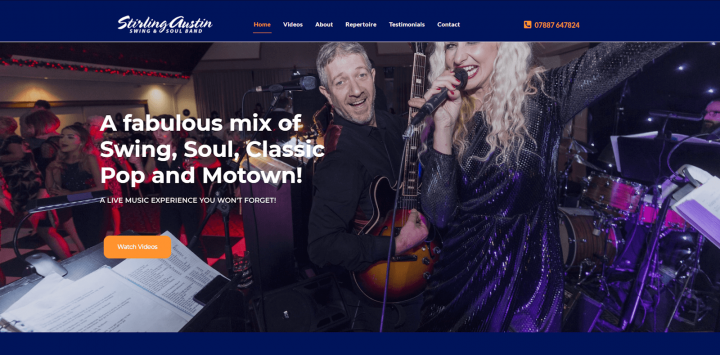 Stirling Austin Homepage