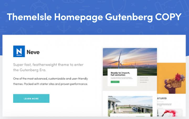 ThemeIsle Gutenberg Copy2