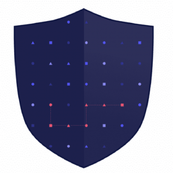an illustration of a shield