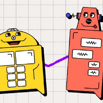 an illustration of chatbots