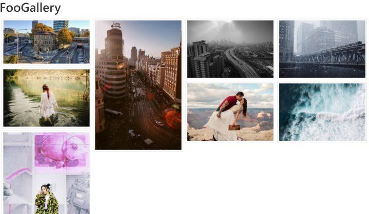 foogallery gallery plugin WordPress