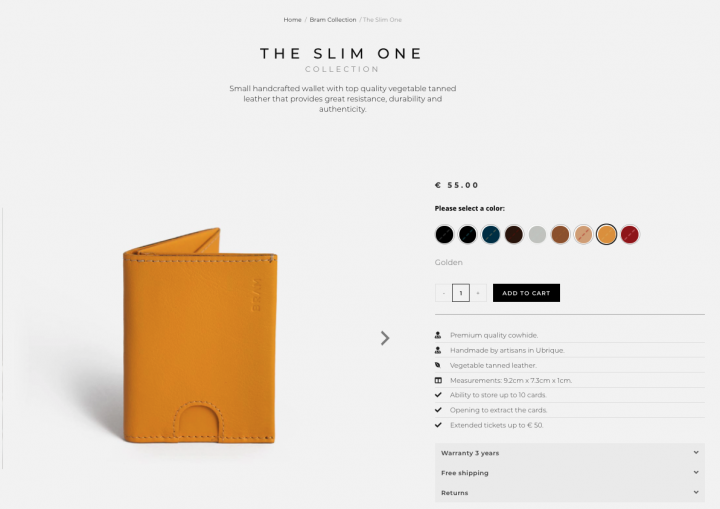 product landing page example elementor