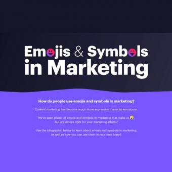 emojis and symbols in marketing