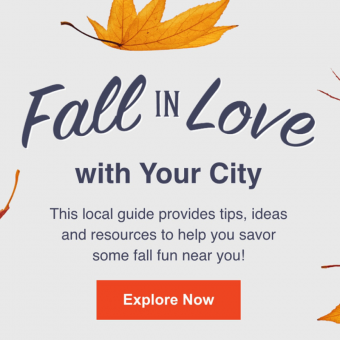 fall in love with your city poster