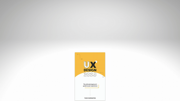 an image of the UX Design 2020 book