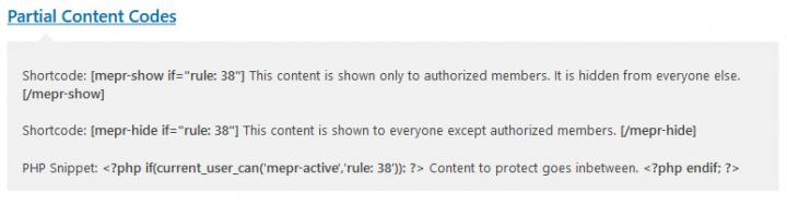 partial content codes