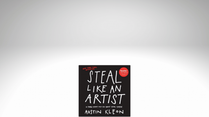 an image of the Steal Like an Artist book