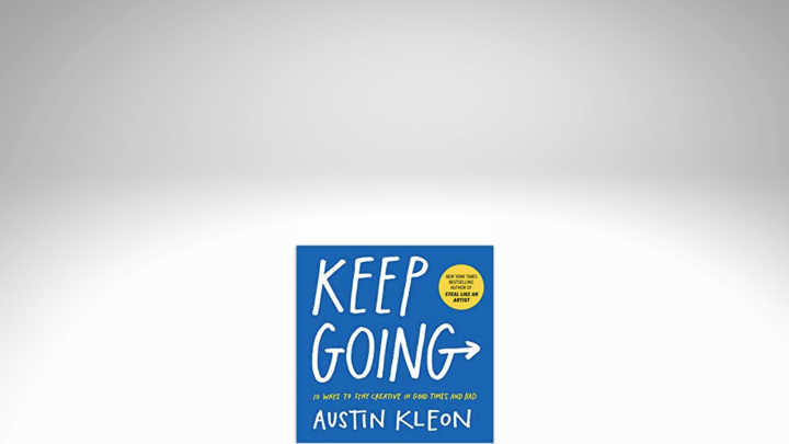 an image of the Keep Going book