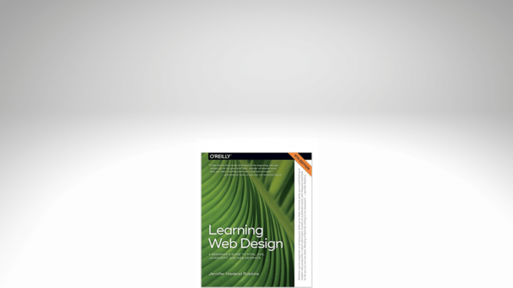 an image of  the Learning Web Design book