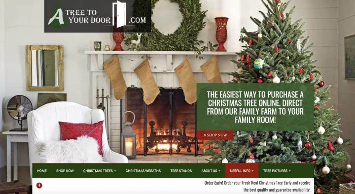 order christmas tree online