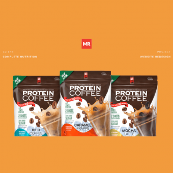 protein coffee product for case study