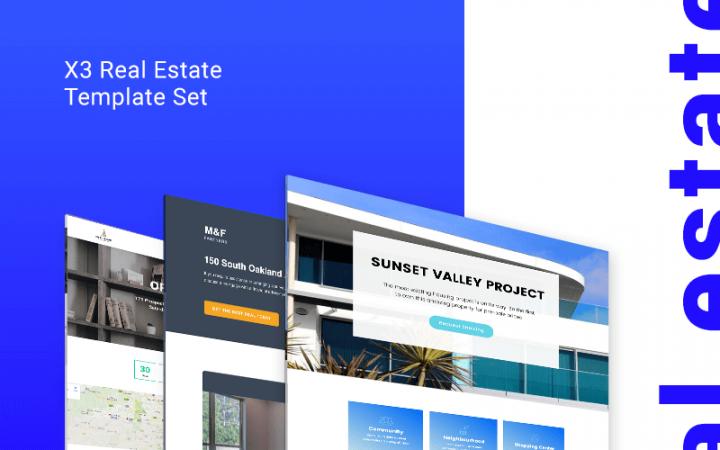 real estate Landing Page templates