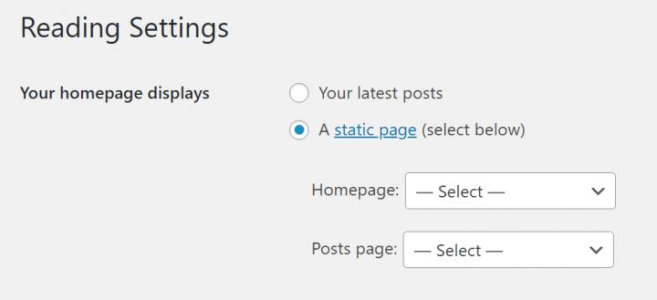 static-homepage