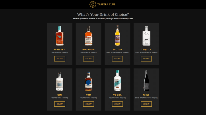 tasters-club-pricing-table