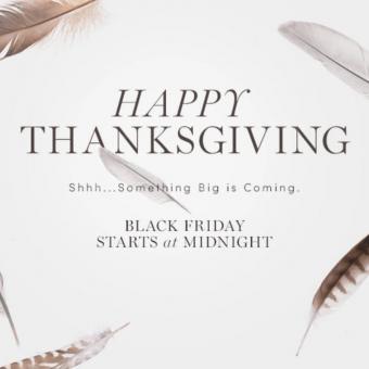 thanksgiving newsletter example