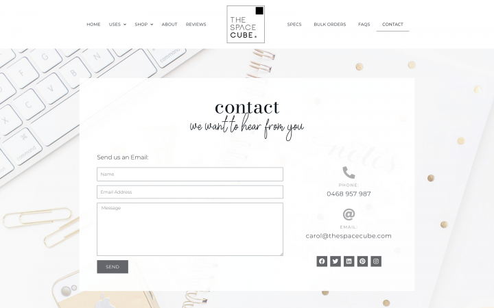contact form example elementor