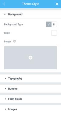 theme style screenshot