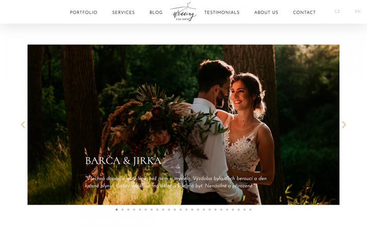 wedding factory elementor showcase