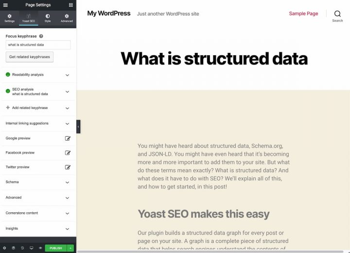 yoast-seo-and-elementor-interface