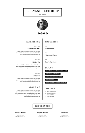 template-resume