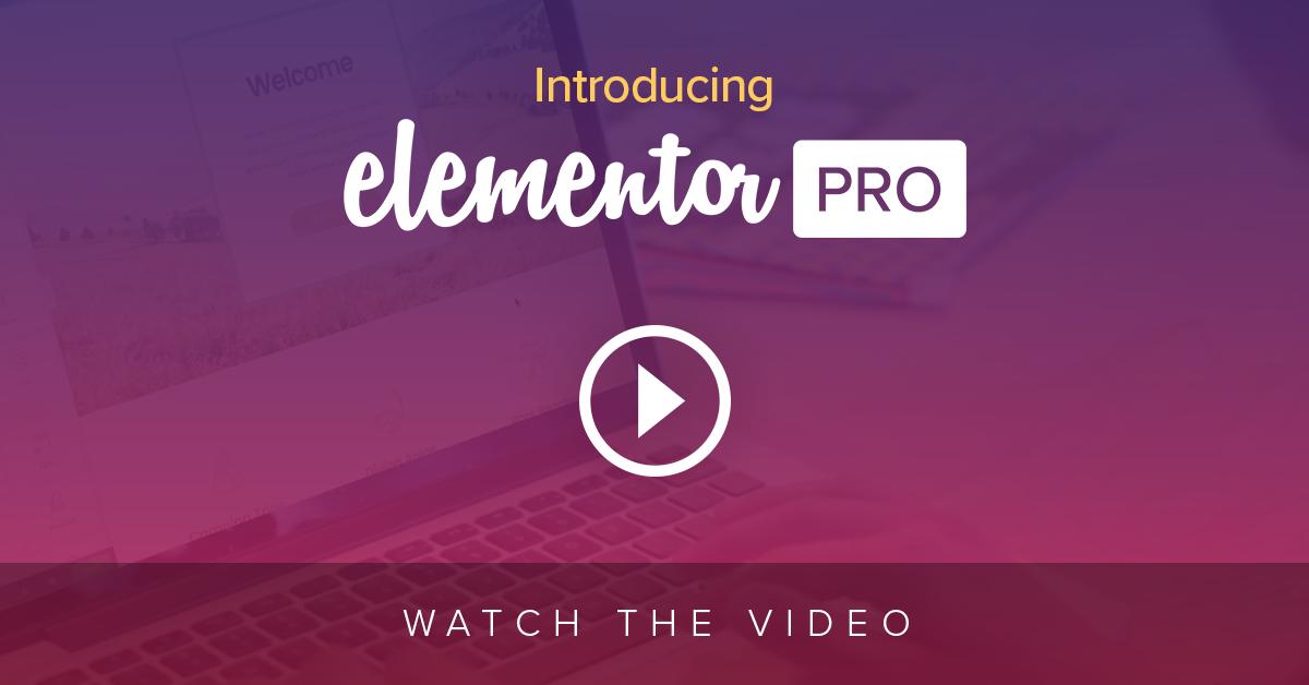 elementor page builder pro download