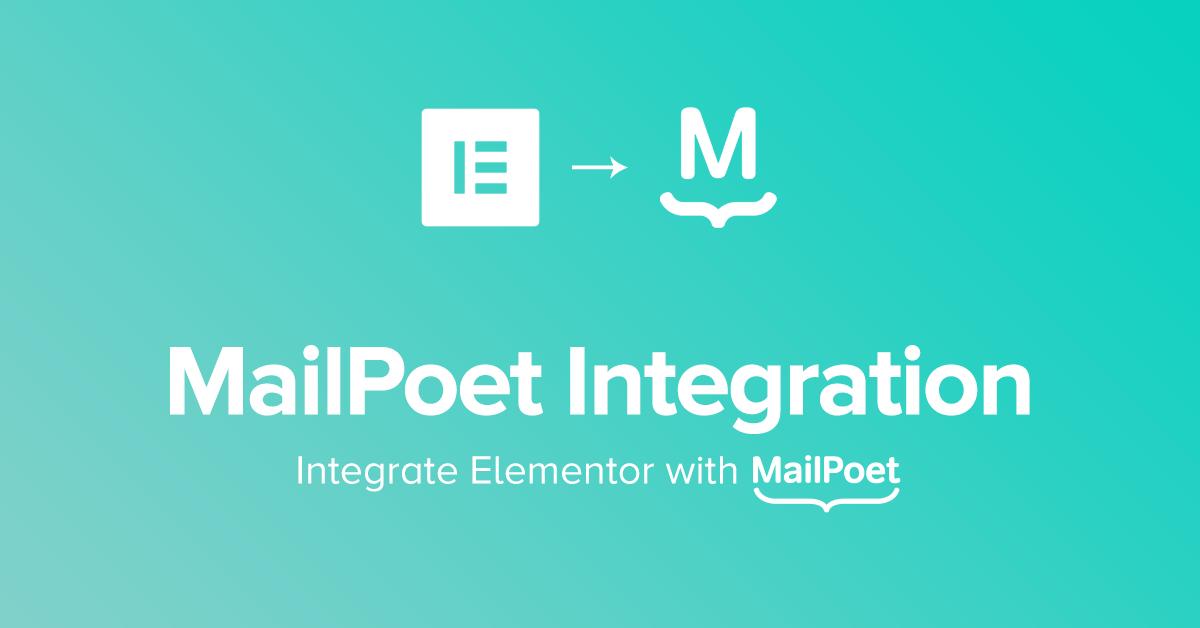 MailPoet Form Integrations