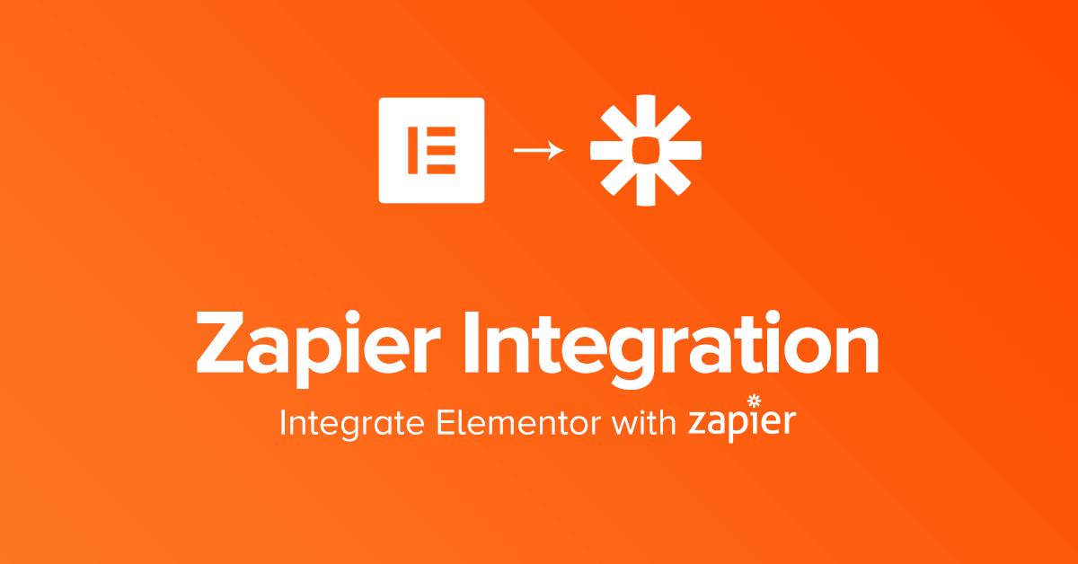 Zapier form integration