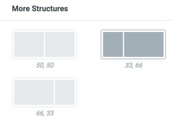 """""""33, 66"""" structure"""