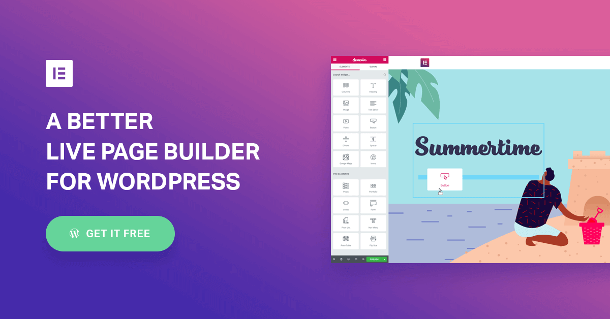 Elementor: #1 Free WordPress Website Builder | Elementor.com