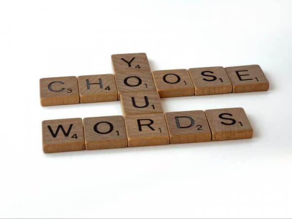 an image of scrabble pieces.