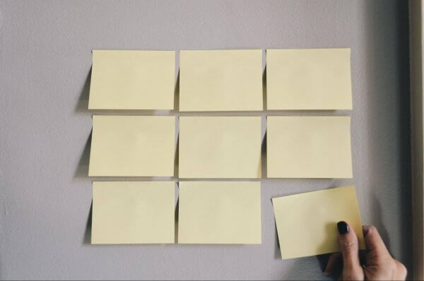 an image of sticky notes