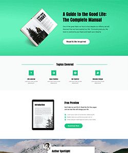 Educational Landing Page