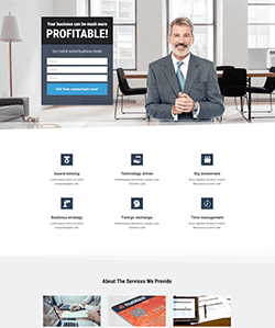 Class Landing Page