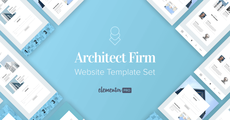 New Templates! The Professional Architect Website Template Set
