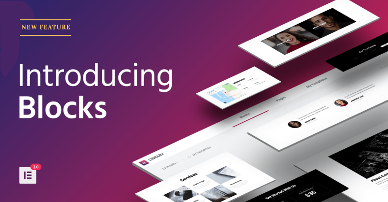 Introducing Blocks – The Fastest Way to Build Websites