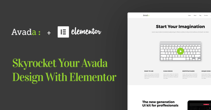 Skyrocket Your Avada Theme With Elementor Page Builder