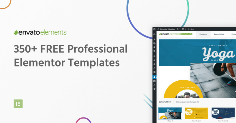 Envato Elements: A Promising New Plugin for Elementor Templates