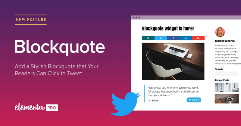 Introducing Blockquote: Easily Add & Design Click to Tweet Quote Boxes