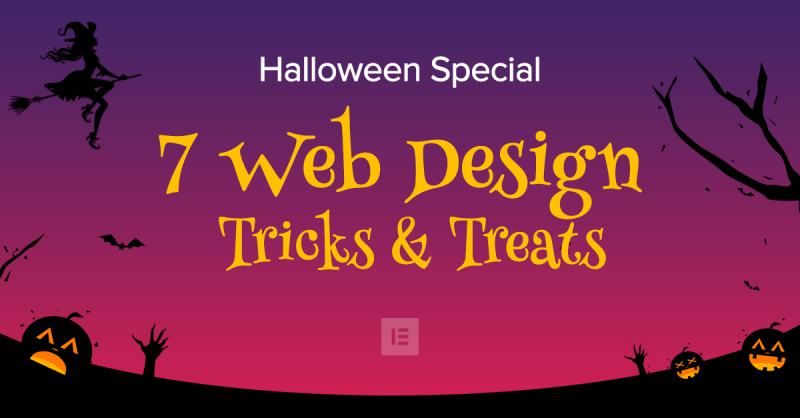Halloween Special: 7 Website Design Tricks and Treats [+Freebies]