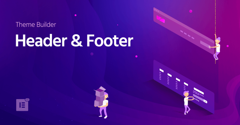 Header & Footer Builder Is Here