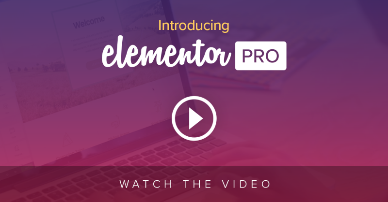 Elementor Pro – Finally Revealed!